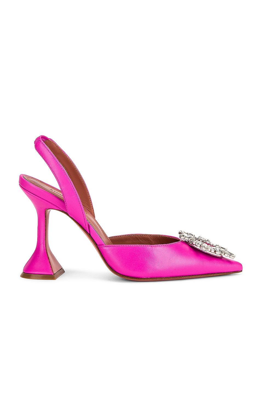 Image 1 of AMINA MUADDI Begum Sling Heel in Pink