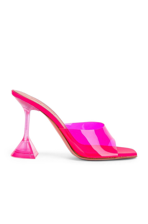Amina Muaddi Sandals Lupita Glass Sandal