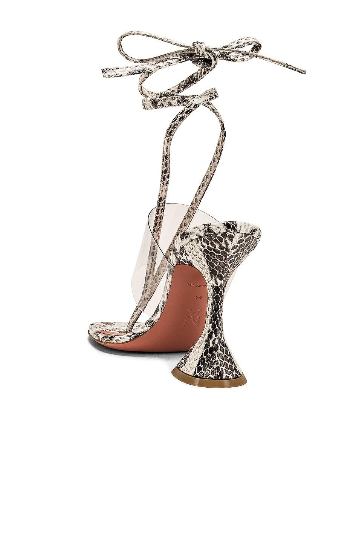 Image 3 of AMINA MUADDI Zula Leather Sandal in Natural