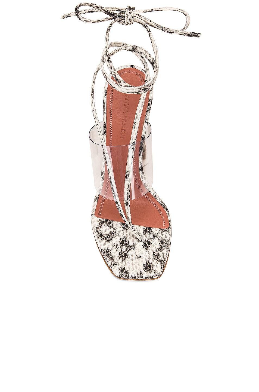 Image 4 of AMINA MUADDI Zula Leather Sandal in Natural