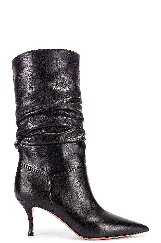 Image 1 of AMINA MUADDI Ida 70 Boot in Black Nappa