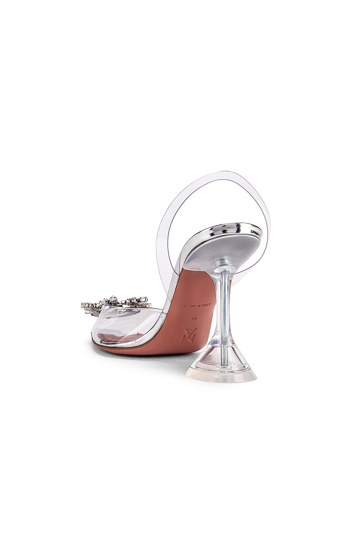 Image 3 of AMINA MUADDI Begum Glass Heel in Transparent