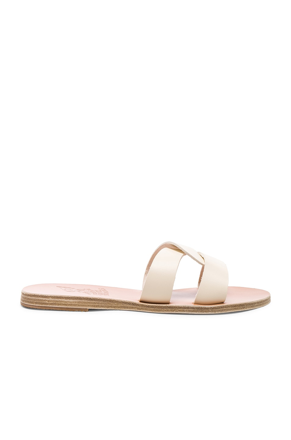 Image 1 of Ancient Greek Sandals Leather Desmos Sandals in Off White