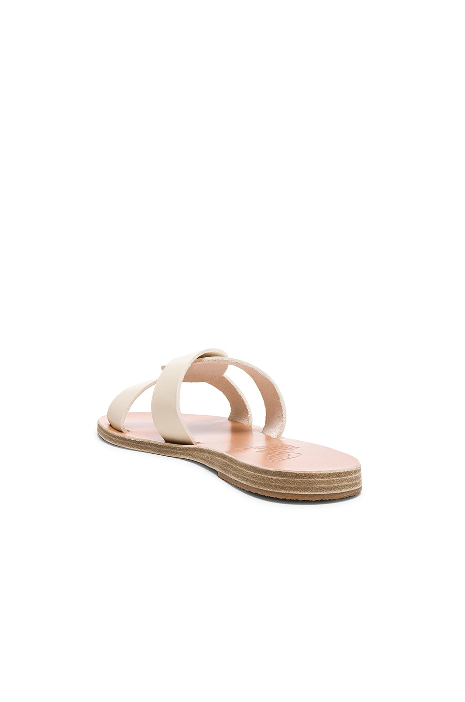 Image 3 of Ancient Greek Sandals Leather Desmos Sandals in Off White