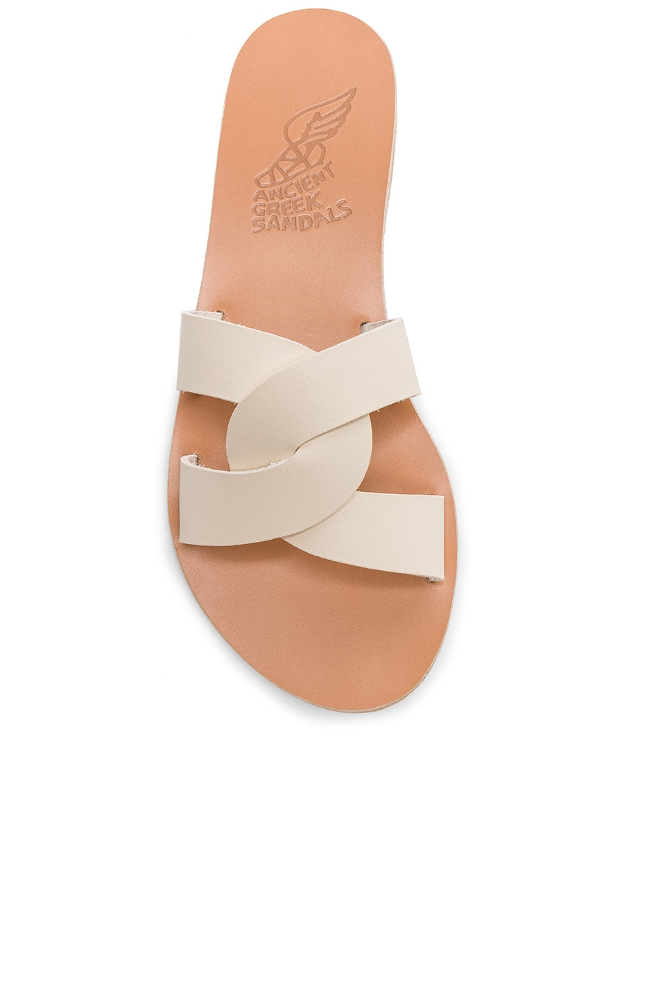 Image 4 of Ancient Greek Sandals Leather Desmos Sandals in Off White