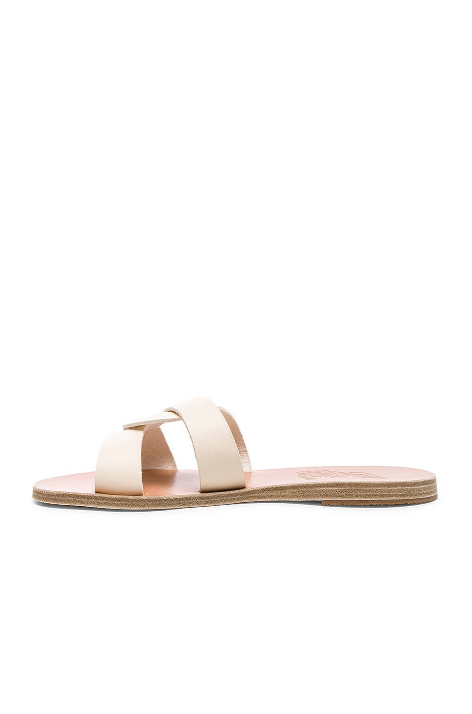 Image 5 of Ancient Greek Sandals Leather Desmos Sandals in Off White