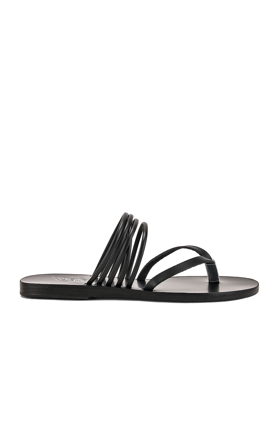 Image 1 of Ancient Greek Sandals Kilini Sandals in Black
