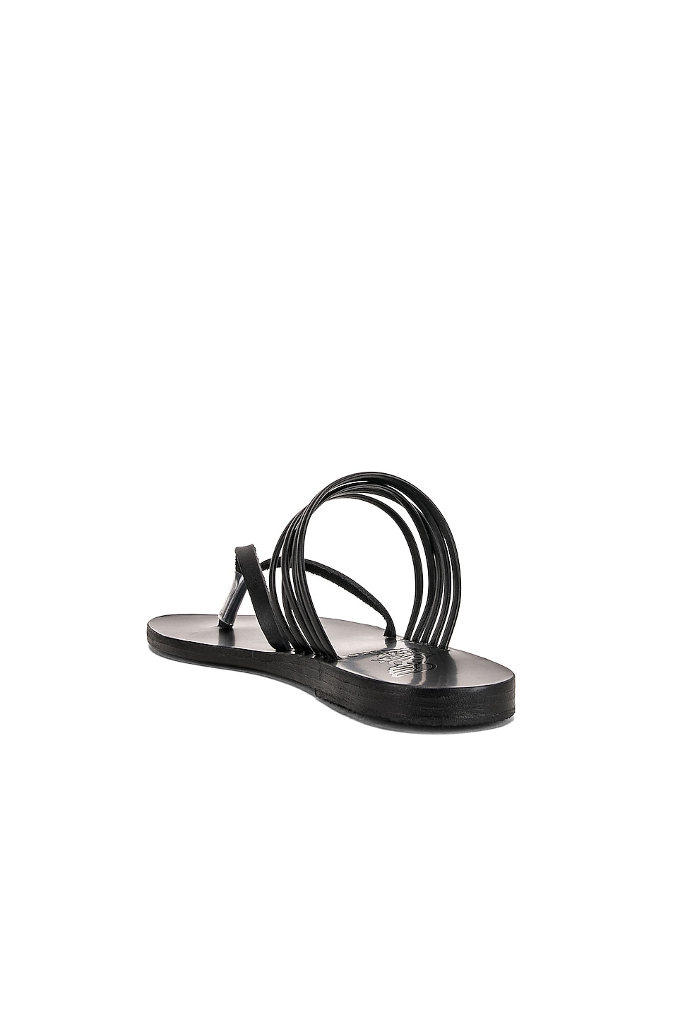 Image 3 of Ancient Greek Sandals Kilini Sandals in Black