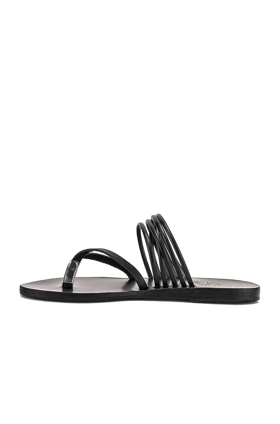Image 5 of Ancient Greek Sandals Kilini Sandals in Black