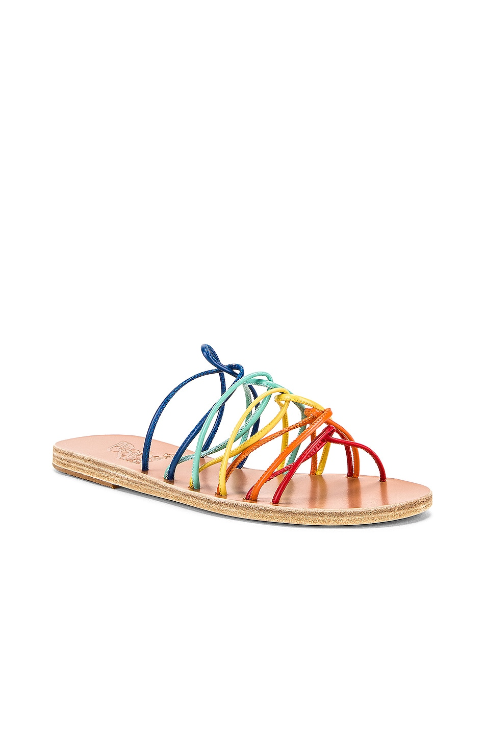 Image 2 of Ancient Greek Sandals Rodopi Sandals in Multi Bright