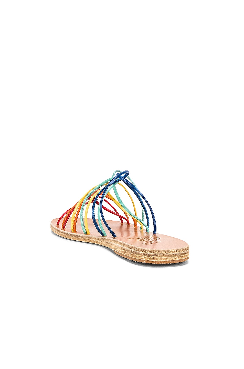 Image 3 of Ancient Greek Sandals Rodopi Sandals in Multi Bright