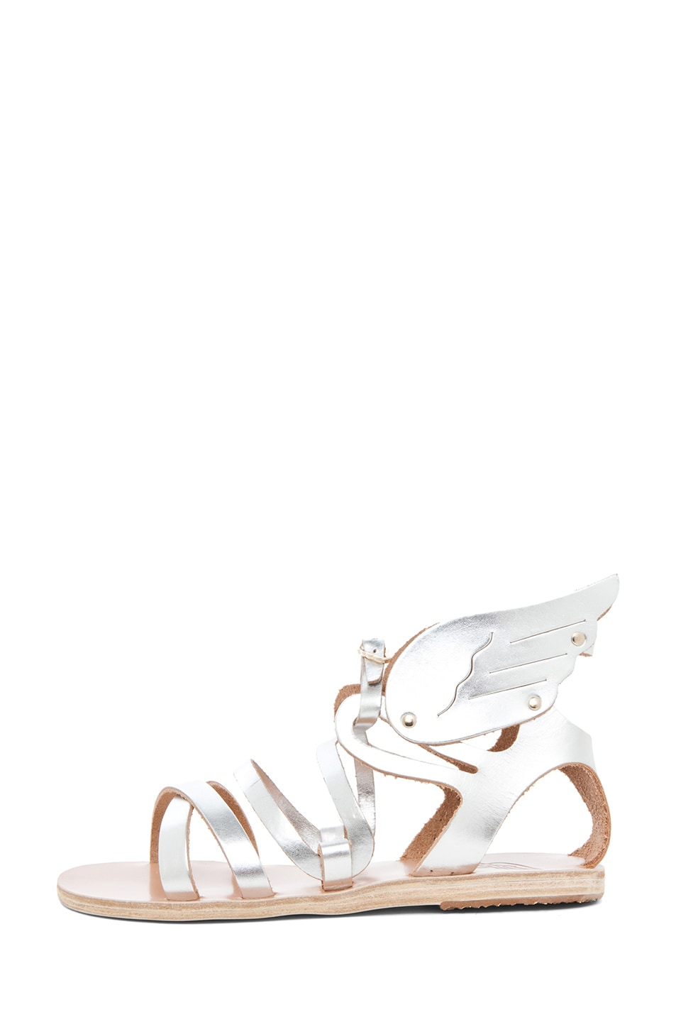 Image 1 of Ancient Greek Sandals Nephele in Silver
