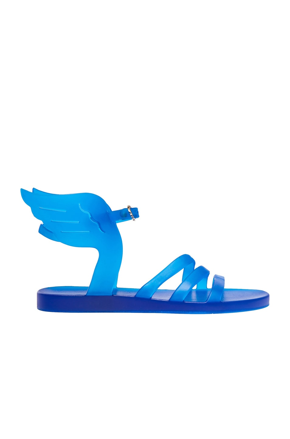 Image 1 of Ancient Greek Sandals Ikaria Sandals in Clear Blue Rubber
