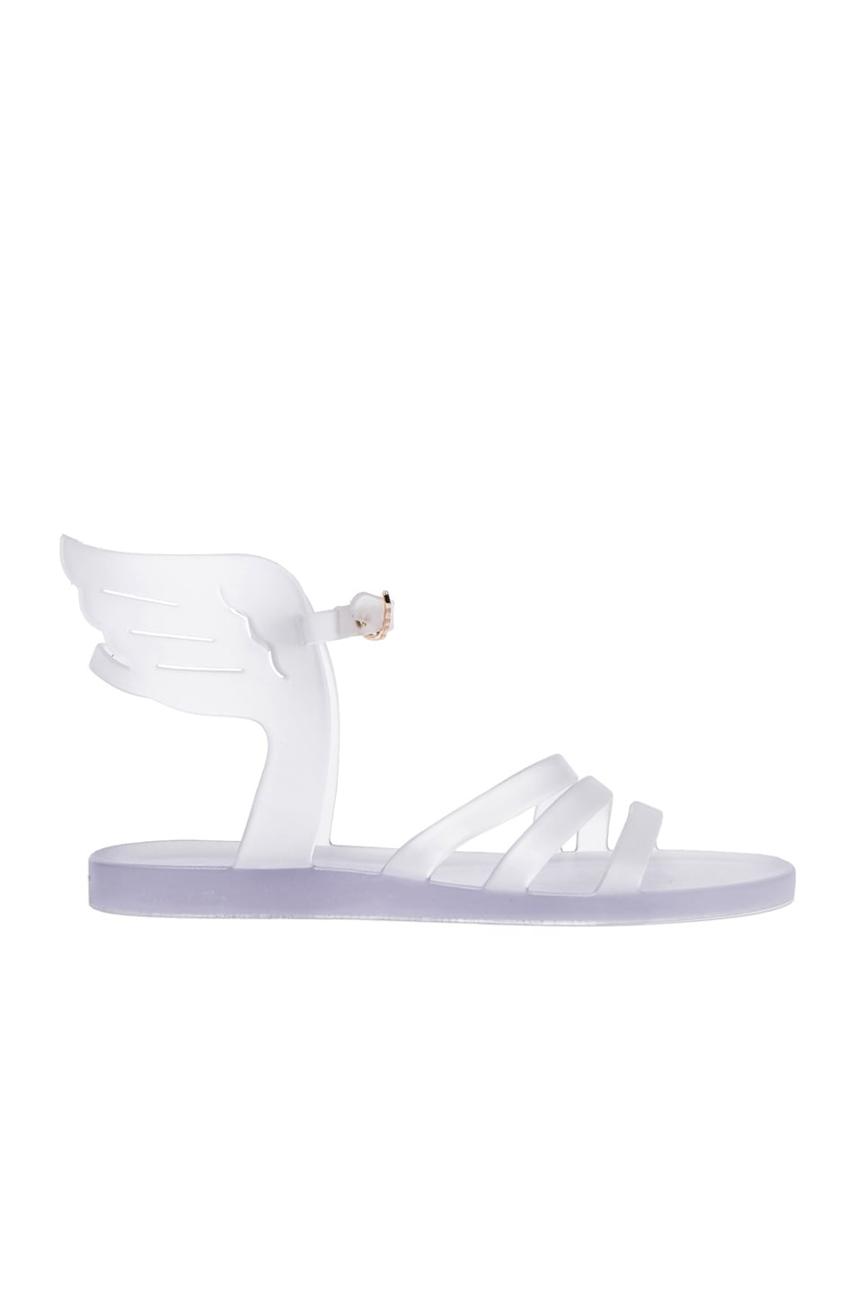 Image 1 of Ancient Greek Sandals Ikaria Sandals in Clear Rubber