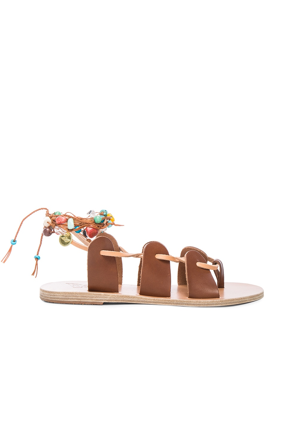 Image 1 of Ancient Greek Sandals Amaryllis Stones Sandals in Cotto & Multi