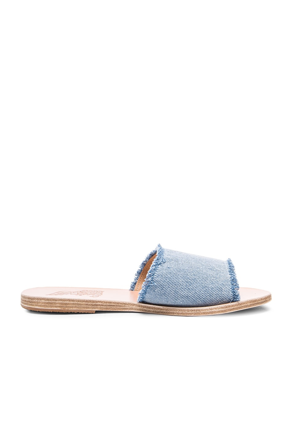 Image 1 of Ancient Greek Sandals Taygete Sandals in Light Denim