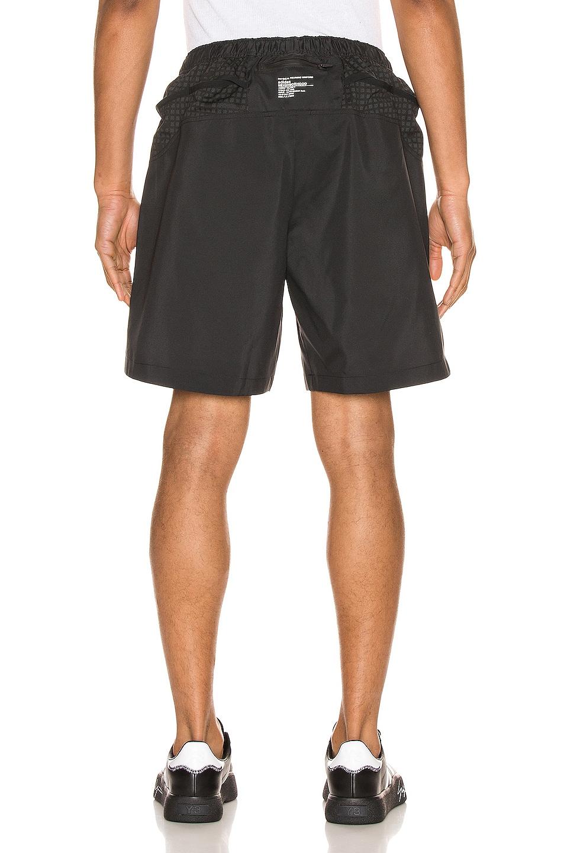 Image 4 of adidas Neighborhood Run Shorts in Black