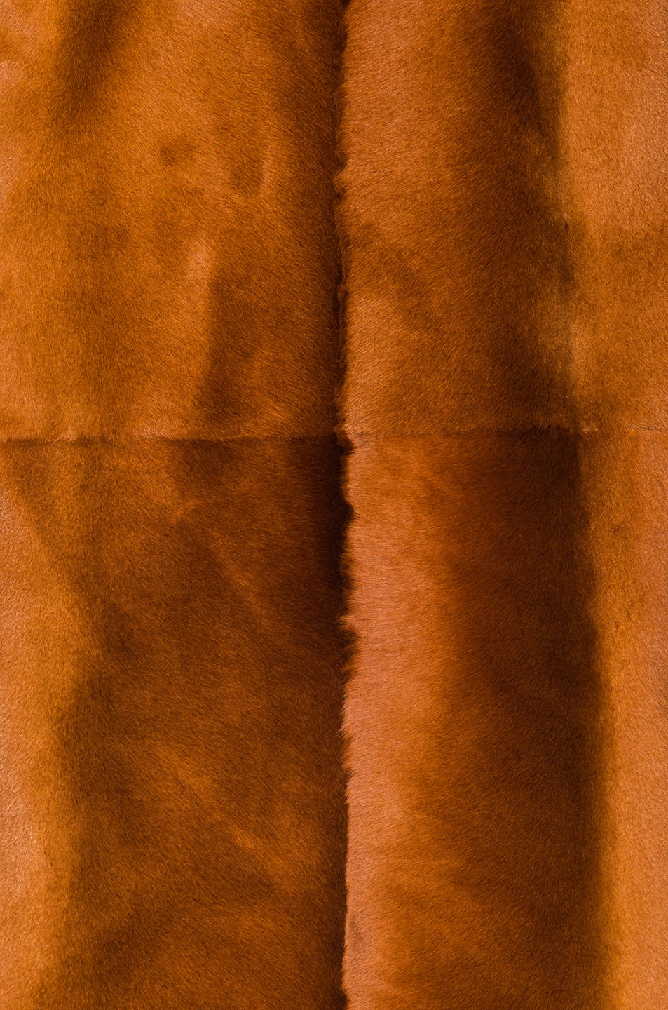 Image 5 of Ann Demeulemeester Sheep Fur Jacket in Rust