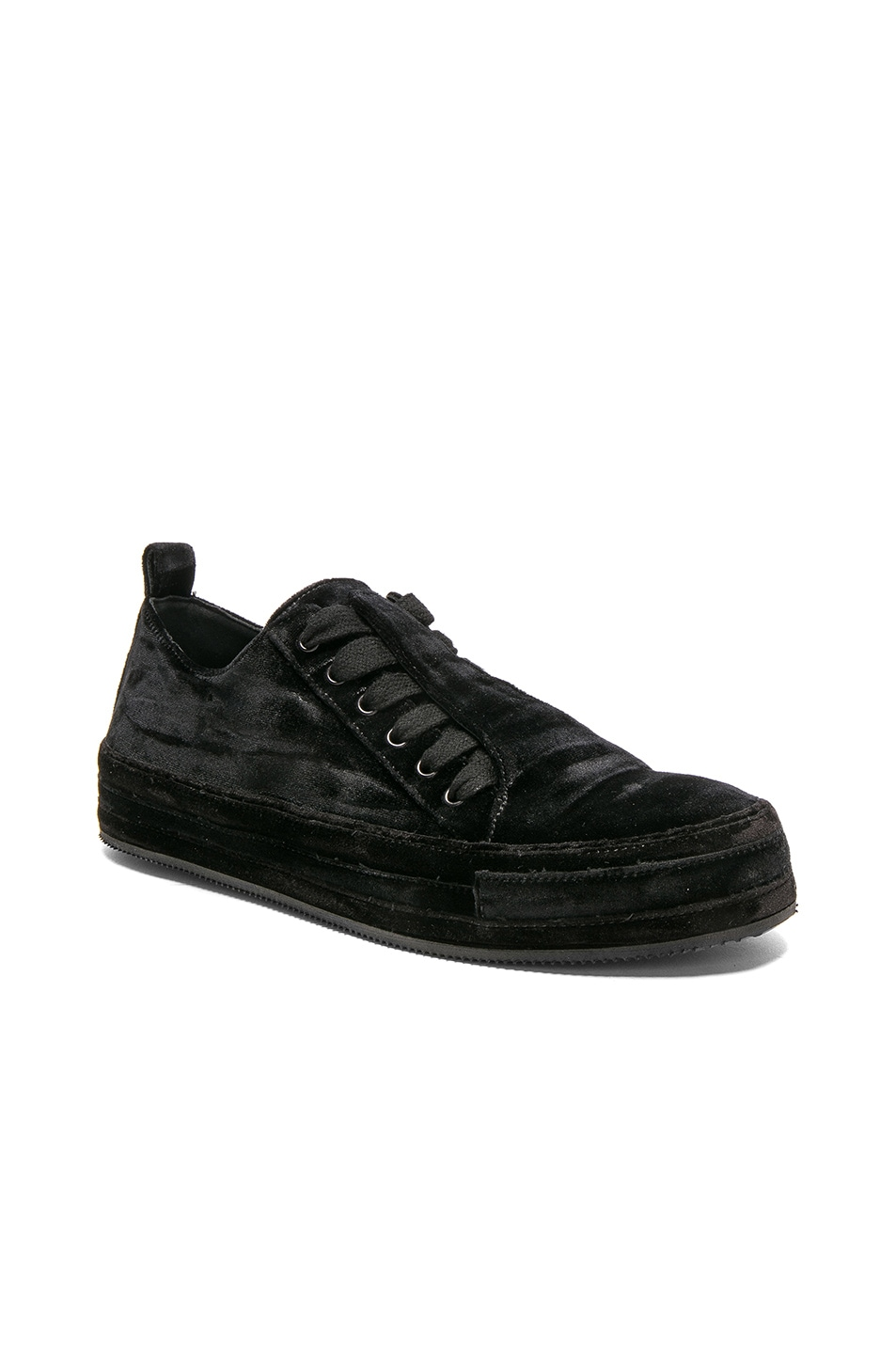 concealed lace trainers - Black Ann Demeulemeester ulJJ92QXf