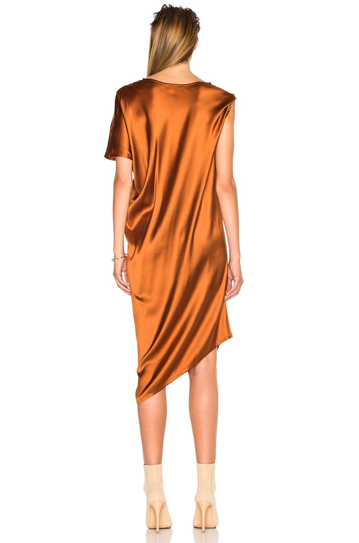 Image 4 of Ann Demeulemeester Drape Dress in Rusty