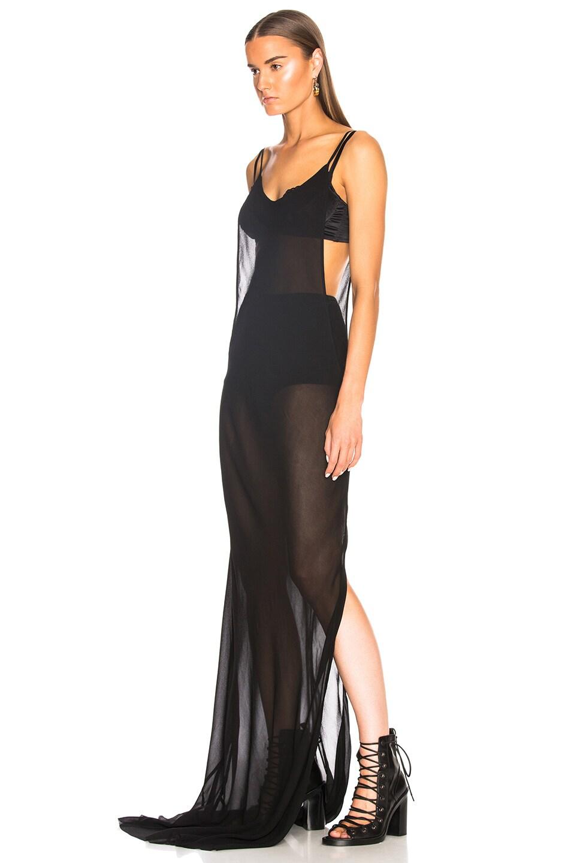 Image 3 of Ann Demeulemeester Cutout Tank Dress in Black