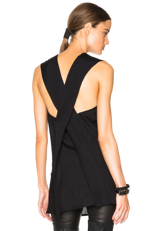 Image 1 of Ann Demeulemeester Tunic Dress in Black