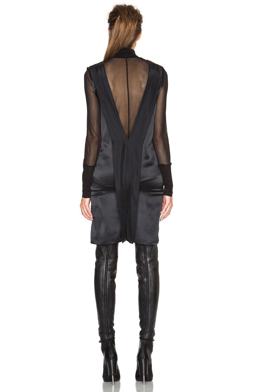 Image 4 of Ann Demeulemeester V Neck Tank Dress in Black