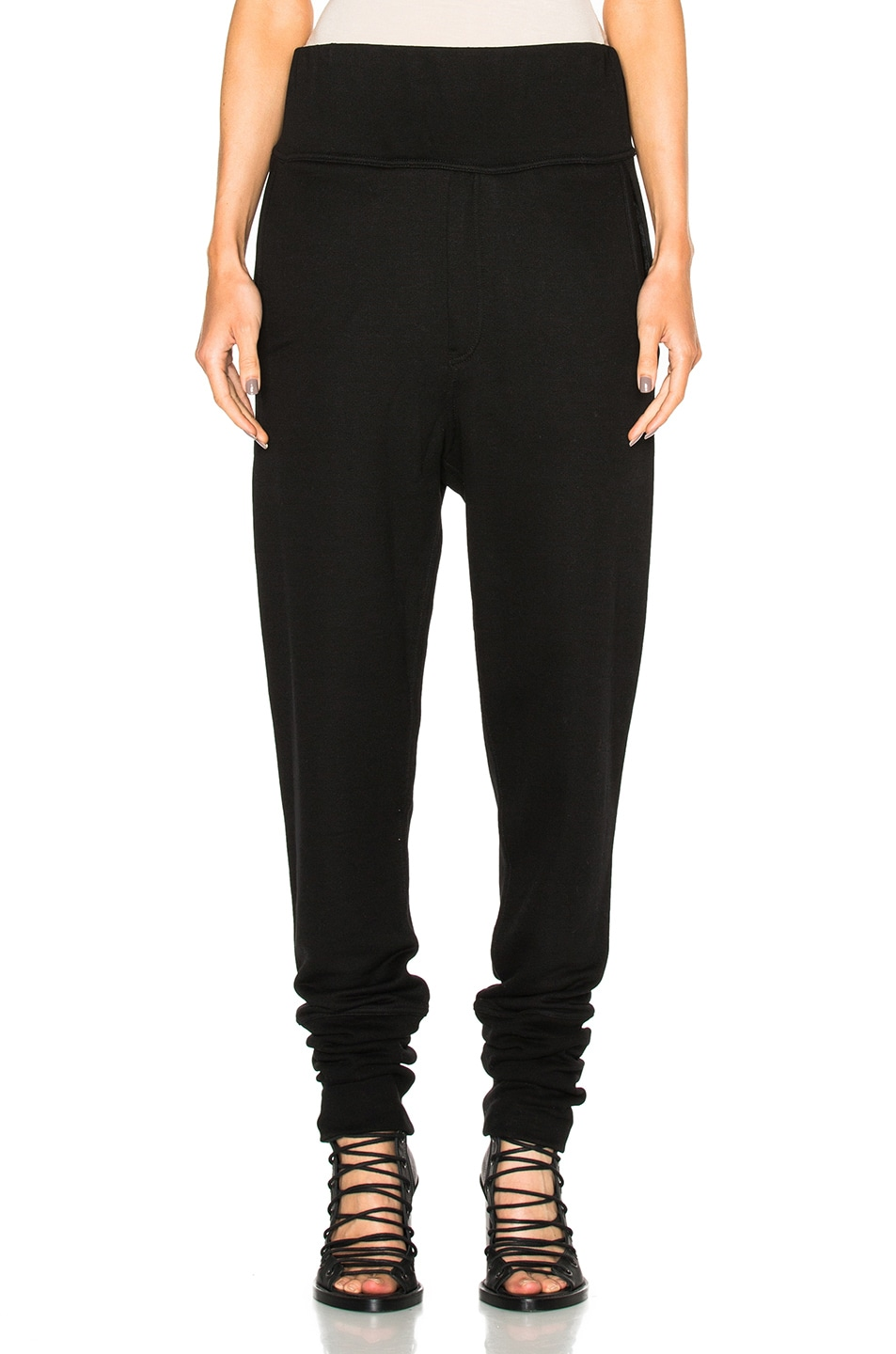 Image 1 of Ann Demeulemeester Sweatpants in Black