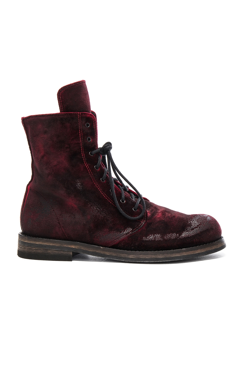 Image 1 of Ann Demeulemeester Boot in Ruby
