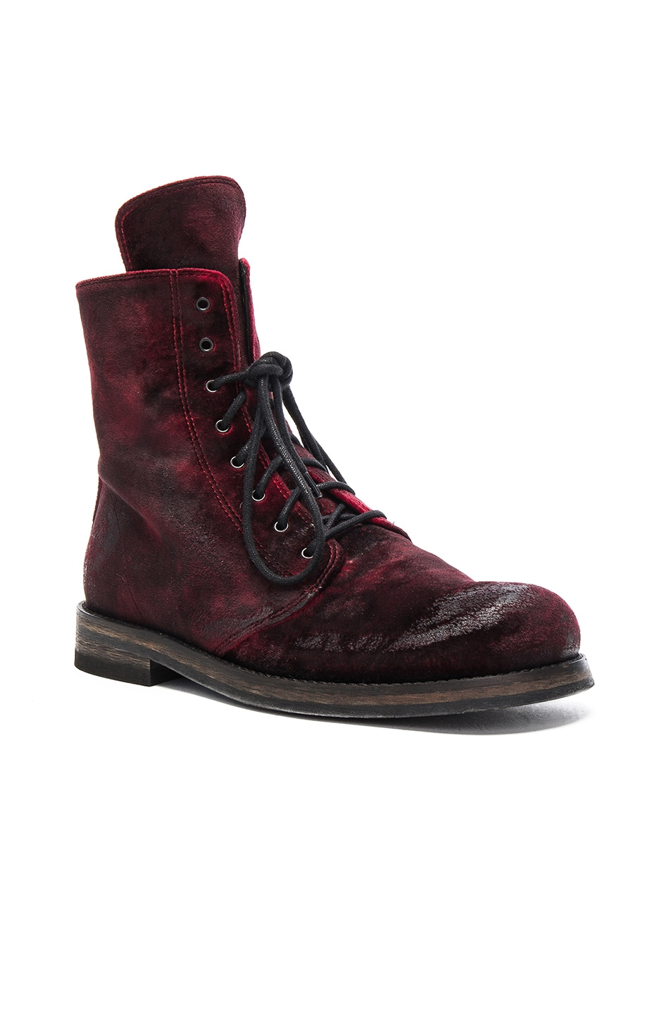 Image 2 of Ann Demeulemeester Boot in Ruby