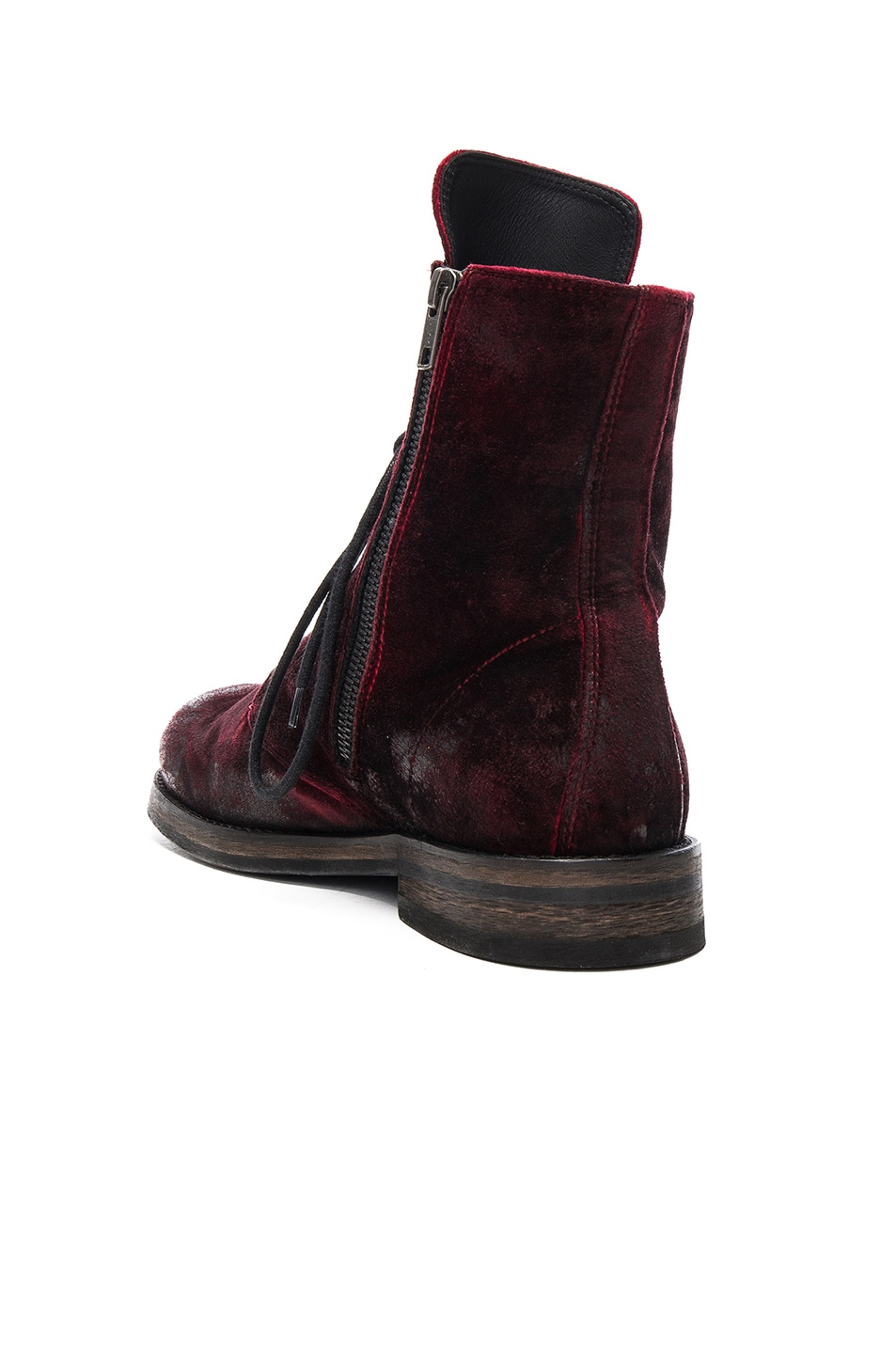 Image 3 of Ann Demeulemeester Boot in Ruby