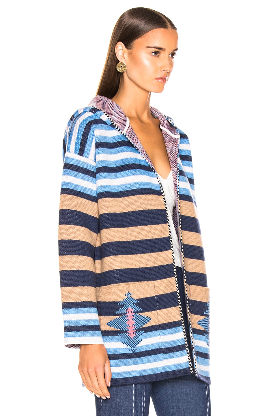 Image 2 of ALANUI Stripes Sweater in Lapponia