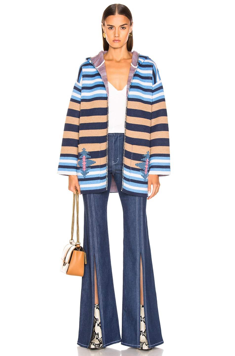 Image 4 of ALANUI Stripes Sweater in Lapponia