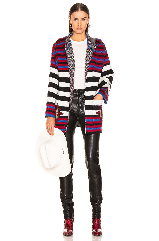 Image 4 of ALANUI Stripes Sweater in Multicolor