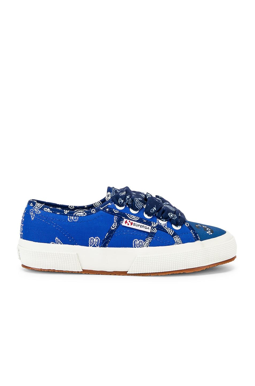 Alanui Sneakers x SUPERGA Low Top Bandana Sneaker