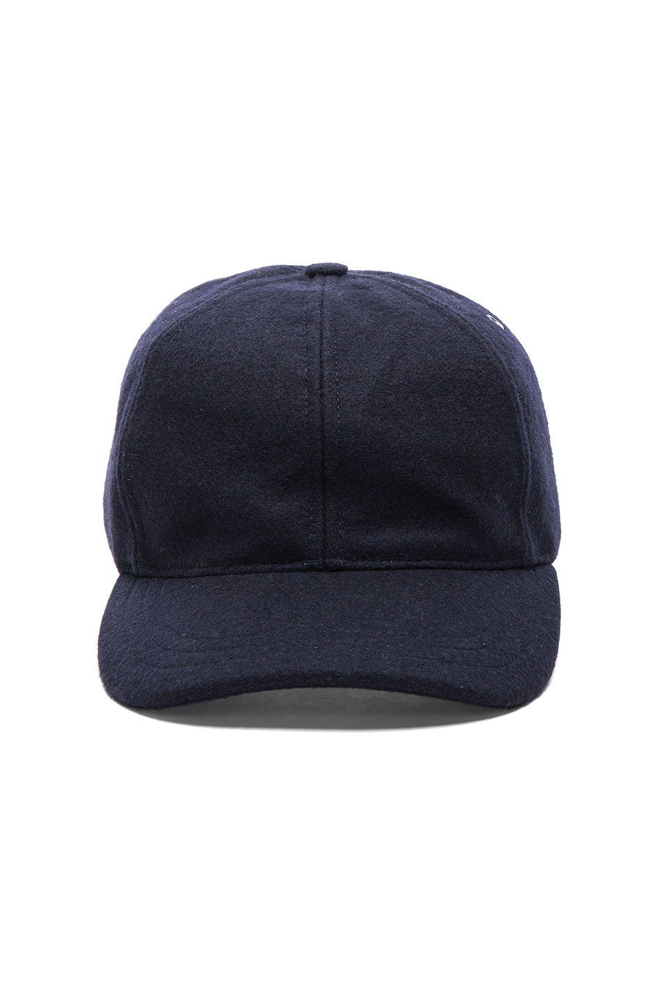 Image 1 of A.P.C. Classic Cap in Dark Navy 80823f76224