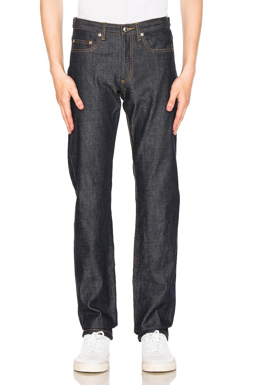 on sale A.P.C. Petit Standard Jean Indigo