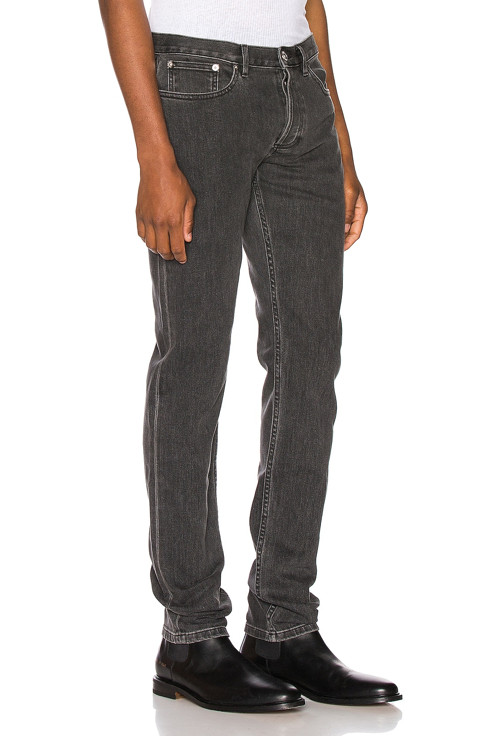 Image 2 of A.P.C. Petite Standard Jeans in Grey