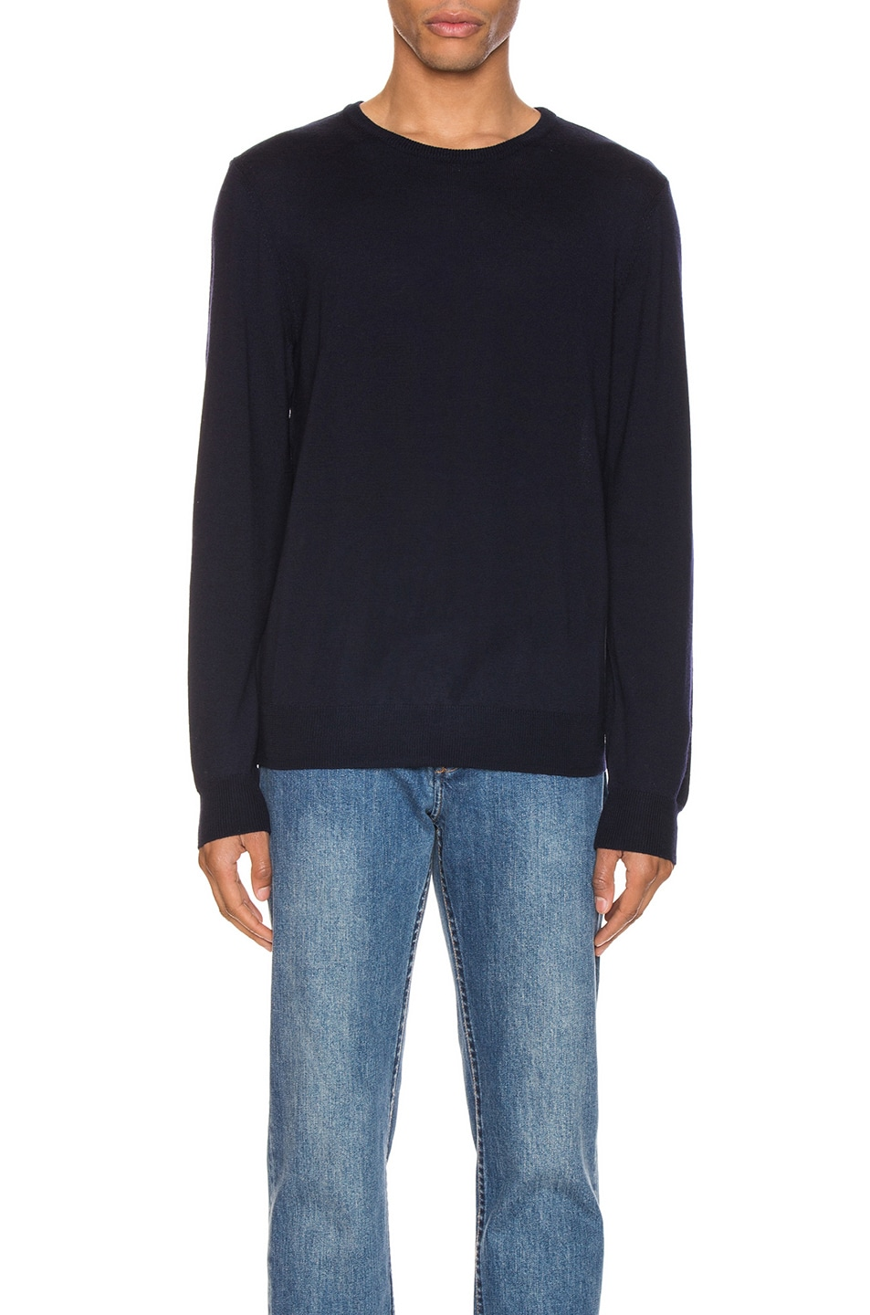 Image 1 of A.P.C. King Pullover in Dark Navy