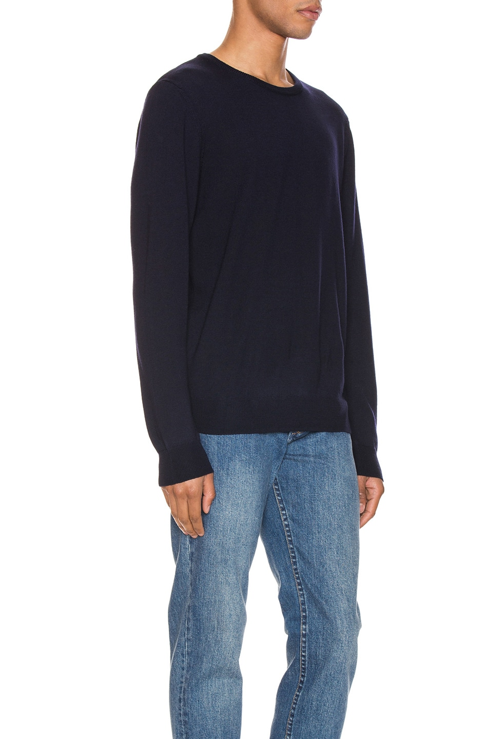 Image 2 of A.P.C. King Pullover in Dark Navy
