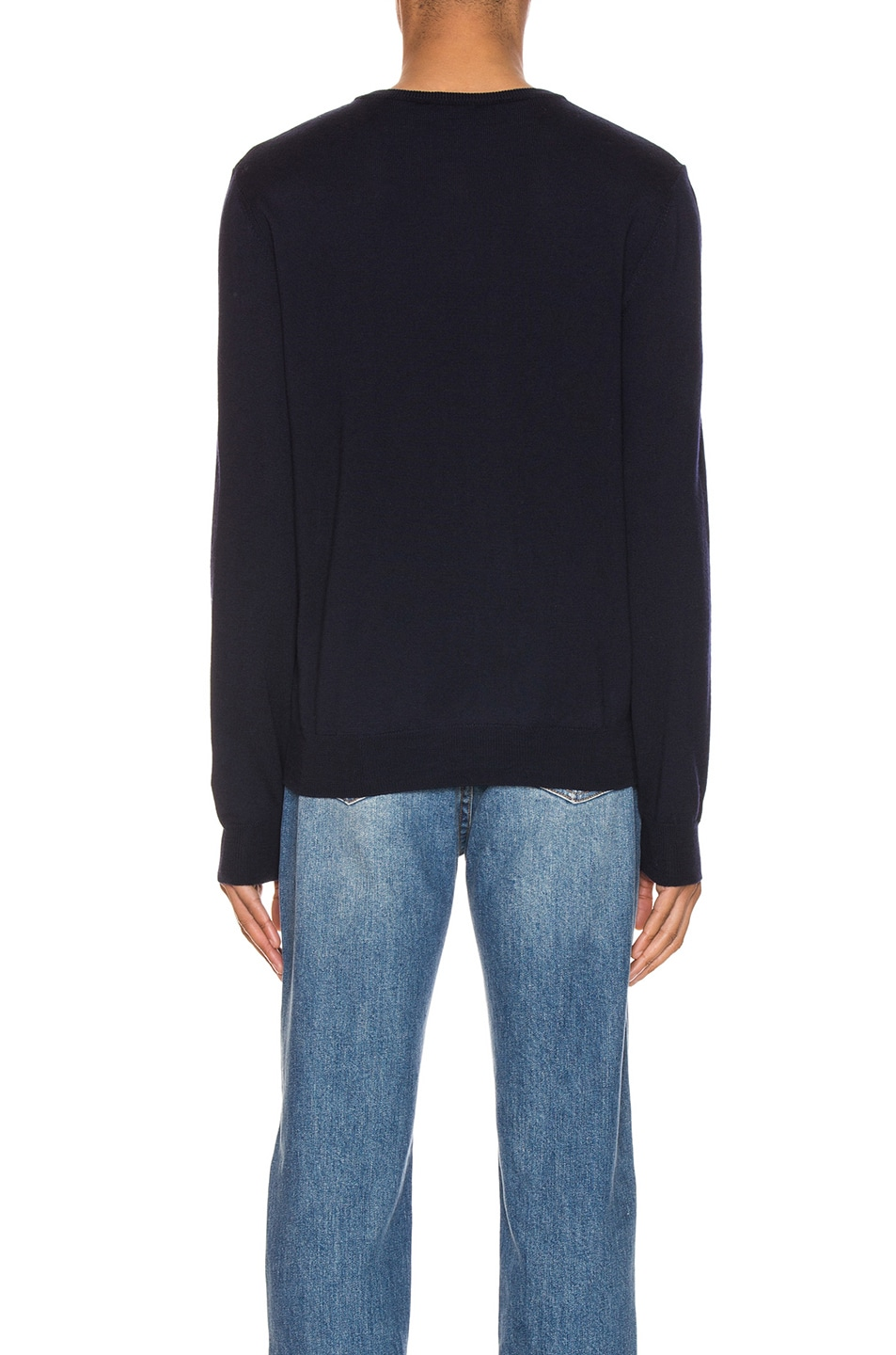 Image 3 of A.P.C. King Pullover in Dark Navy