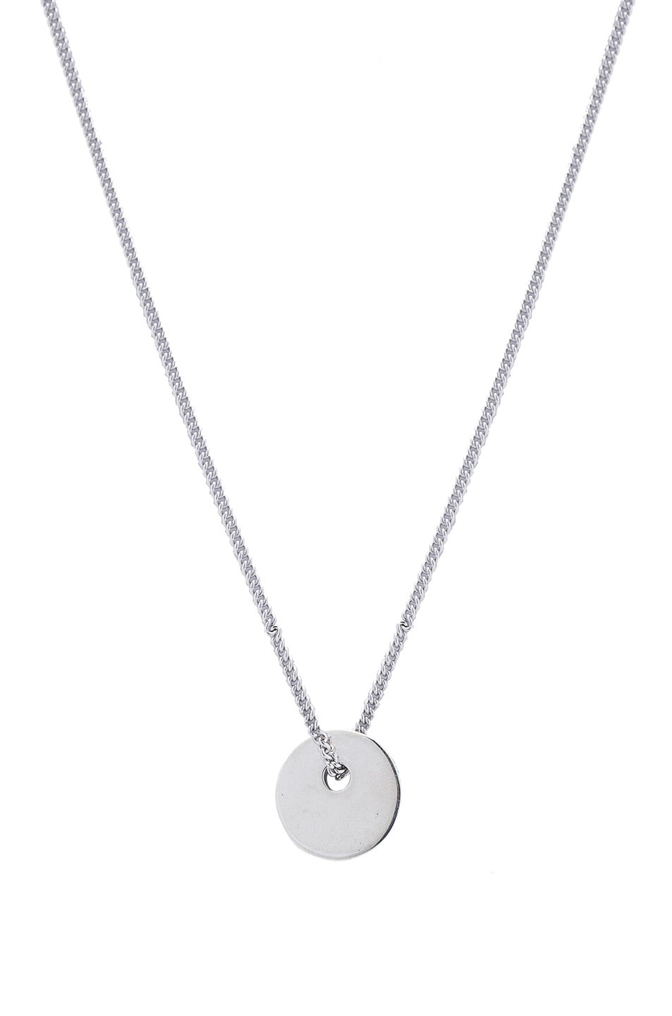 martin c normal necklace silver in jewelry gallery lyst apc a metallic product p