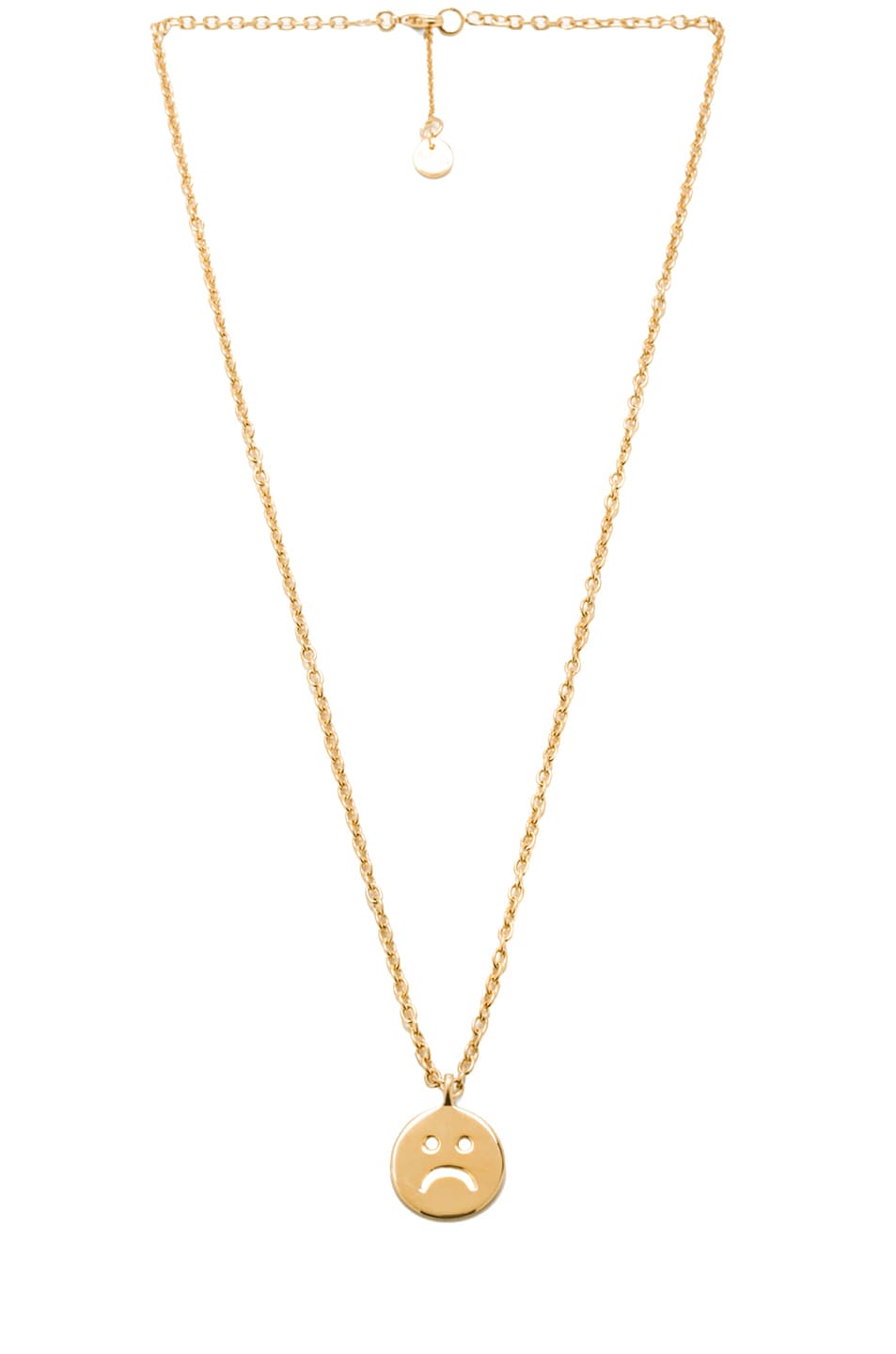 necklace apc andr andre brass in