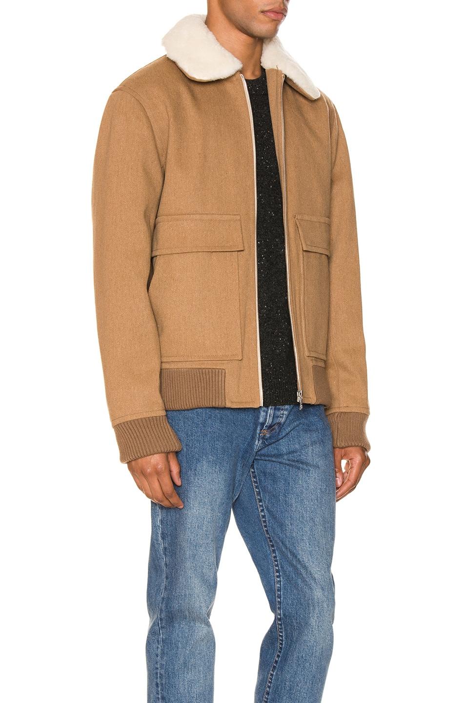 Image 3 of A.P.C. Bronze Jacket in Beige