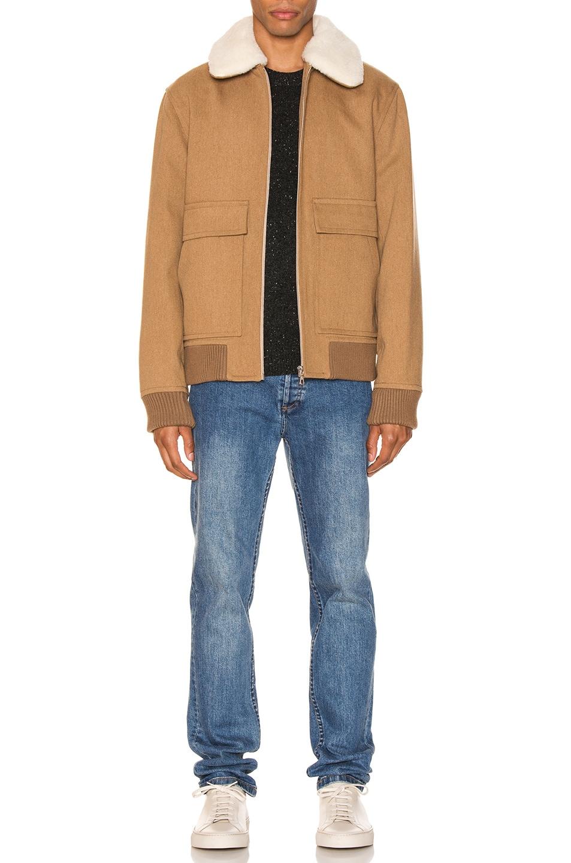 Image 5 of A.P.C. Bronze Jacket in Beige