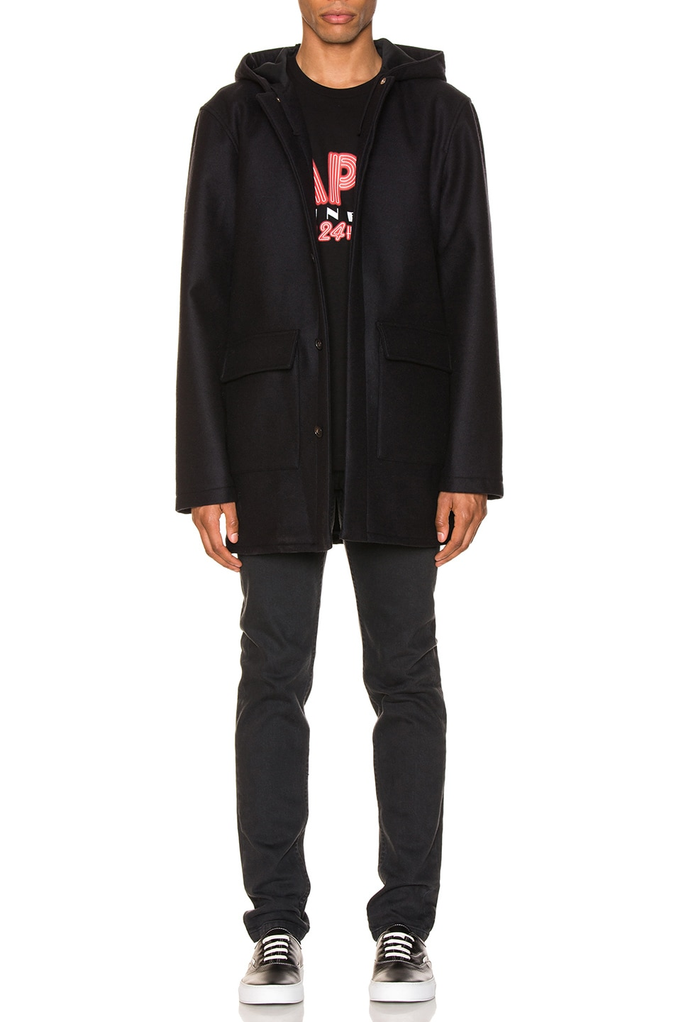 Image 1 of A.P.C. Parka Ben in Marine