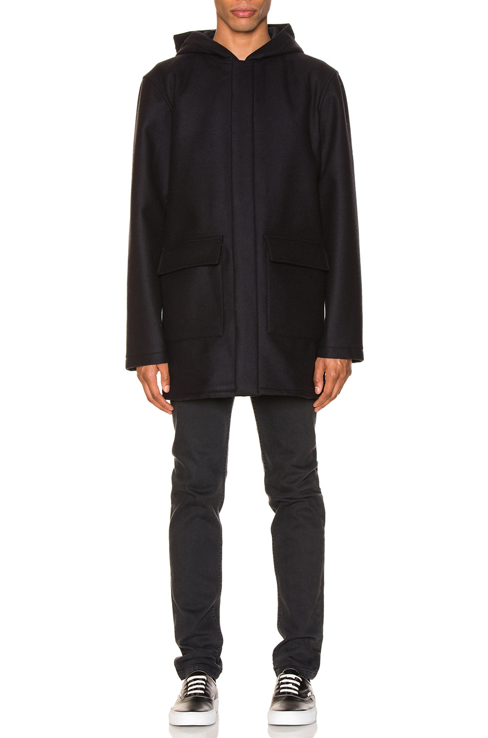 Image 2 of A.P.C. Parka Ben in Marine
