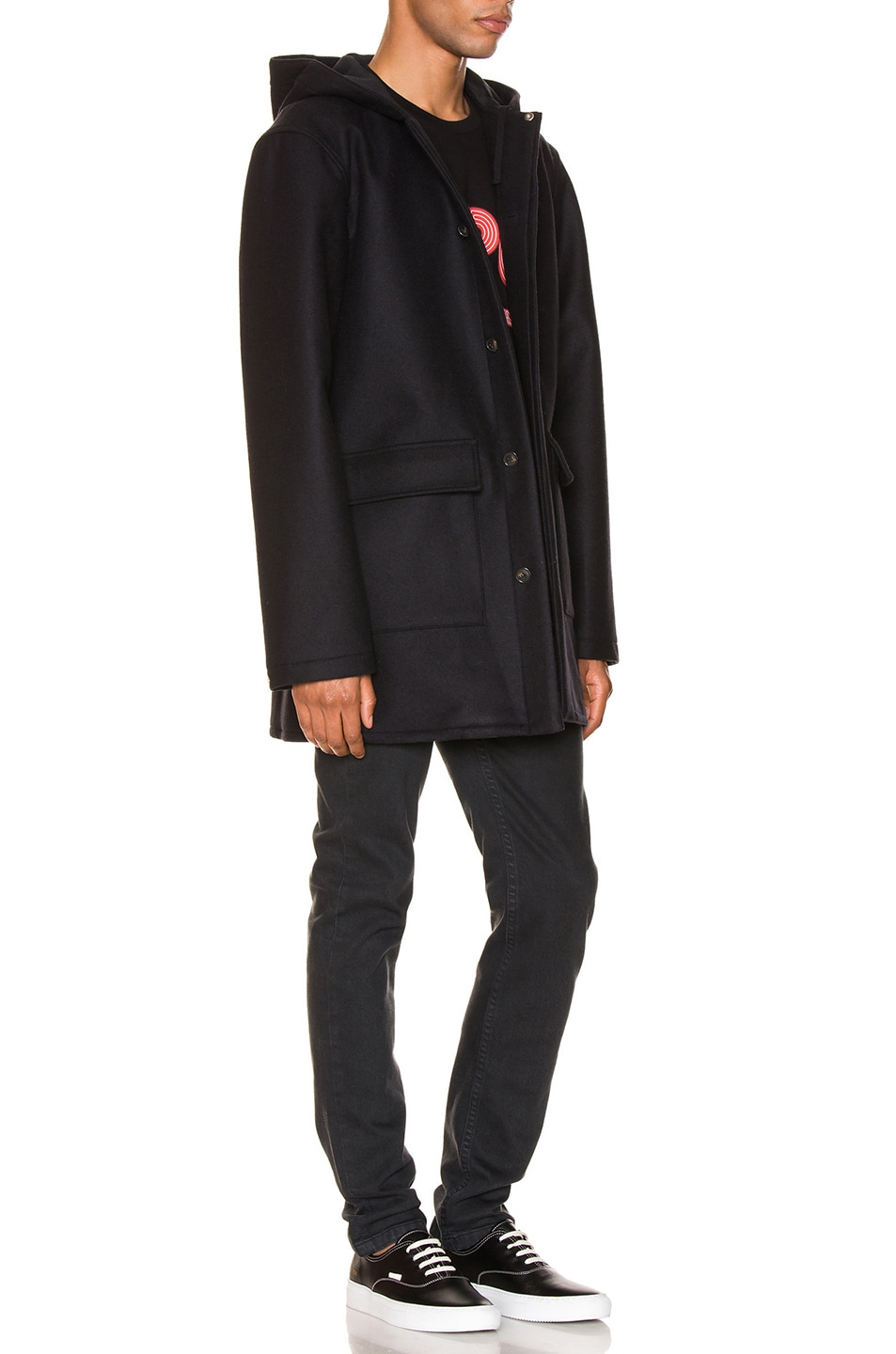 Image 3 of A.P.C. Parka Ben in Marine