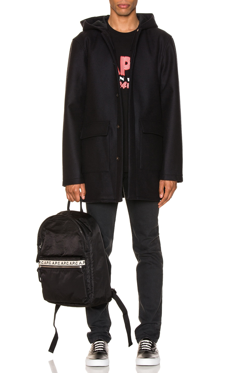 Image 5 of A.P.C. Parka Ben in Marine