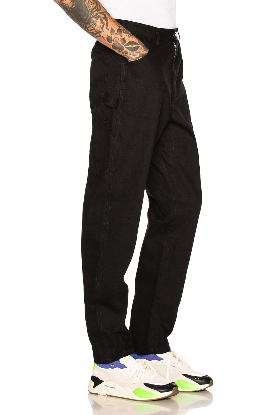A.P.C. Trousers Black well-wreapped